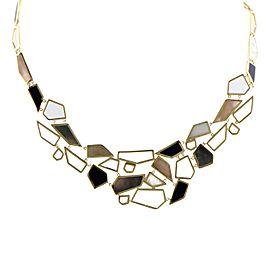 Ippolita 18K Yellow Gold Multi-Colored Stones Bib Necklace