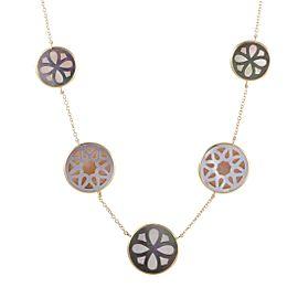 Ippolita 18K Yellow Gold Mother of Pearl Sautoir Necklace