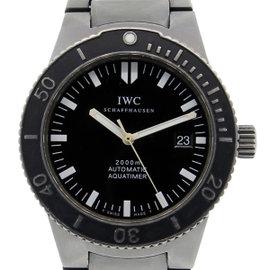 IWC 3536 Titanium Aquatimer 2000 Mens Watch