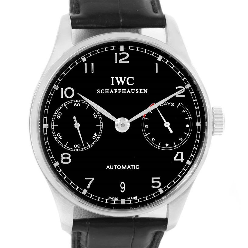 """Image of """"IWC Portuguese Chrono Iw500109 Stainless Steel 42.3mm Mens Watch"""""""