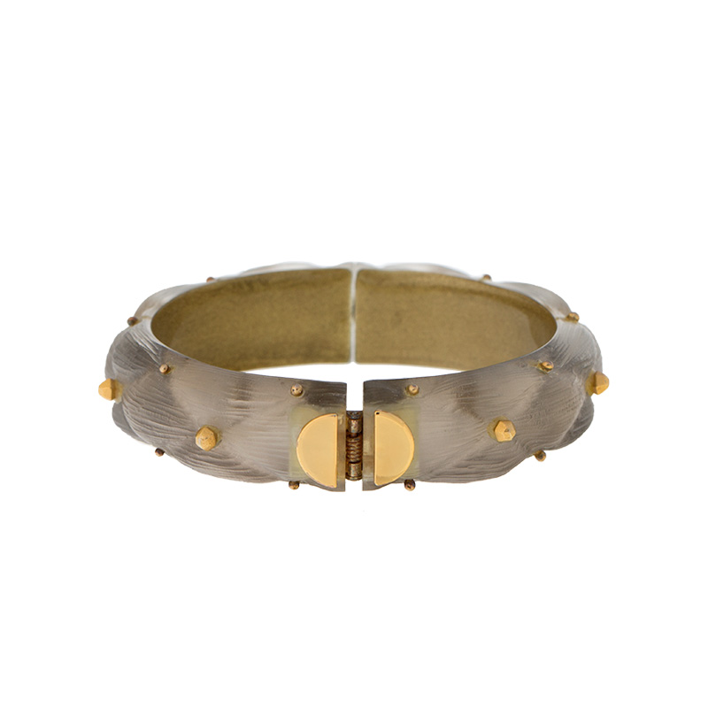"Image of ""Alexis Bittar Lucite Hinged Cuff Bracelet"""