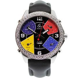 Jacob & Co. S5993 Five Time Zone Diamond Mens Watch