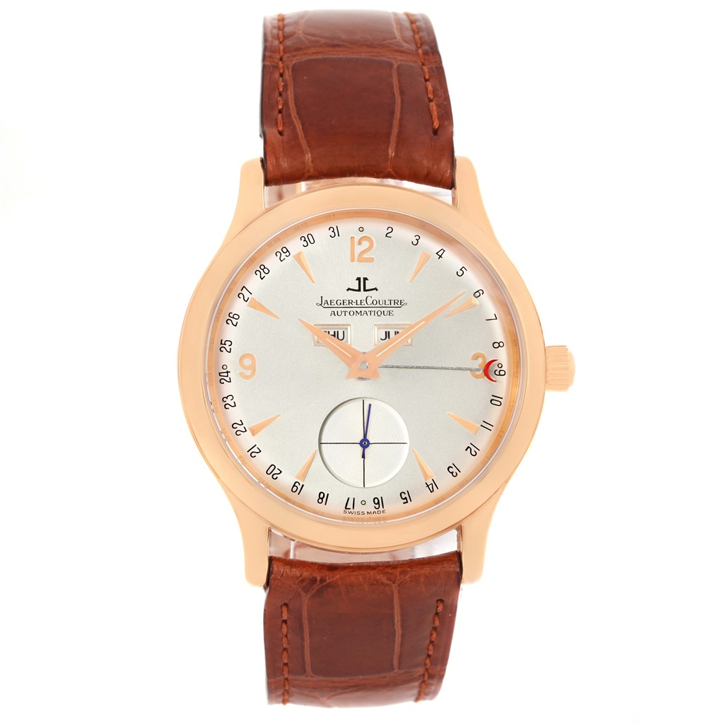 "Image of ""Jaeger Lecoultre 140.2.87 18K Rose Gold Automatic 37mm Mens Watch"""