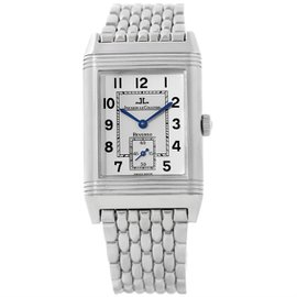 Jaeger LeCoultre Reverso 270.8.62 Stainless Steel & Silver Dial 26mm Mens Watch