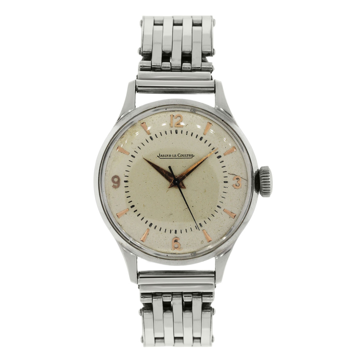 """Image of """"Jaeger LeCoultre Automatic Stainless Steel 36mm Mens Vintage Watch"""""""
