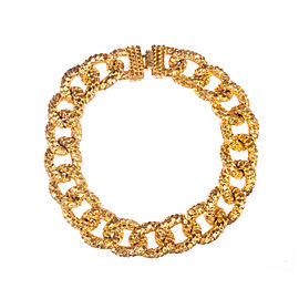 Mimi Di N Textured Chain Collar Necklace