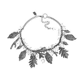 Badgely Mischka Rhinestone Crystal Charm Necklace