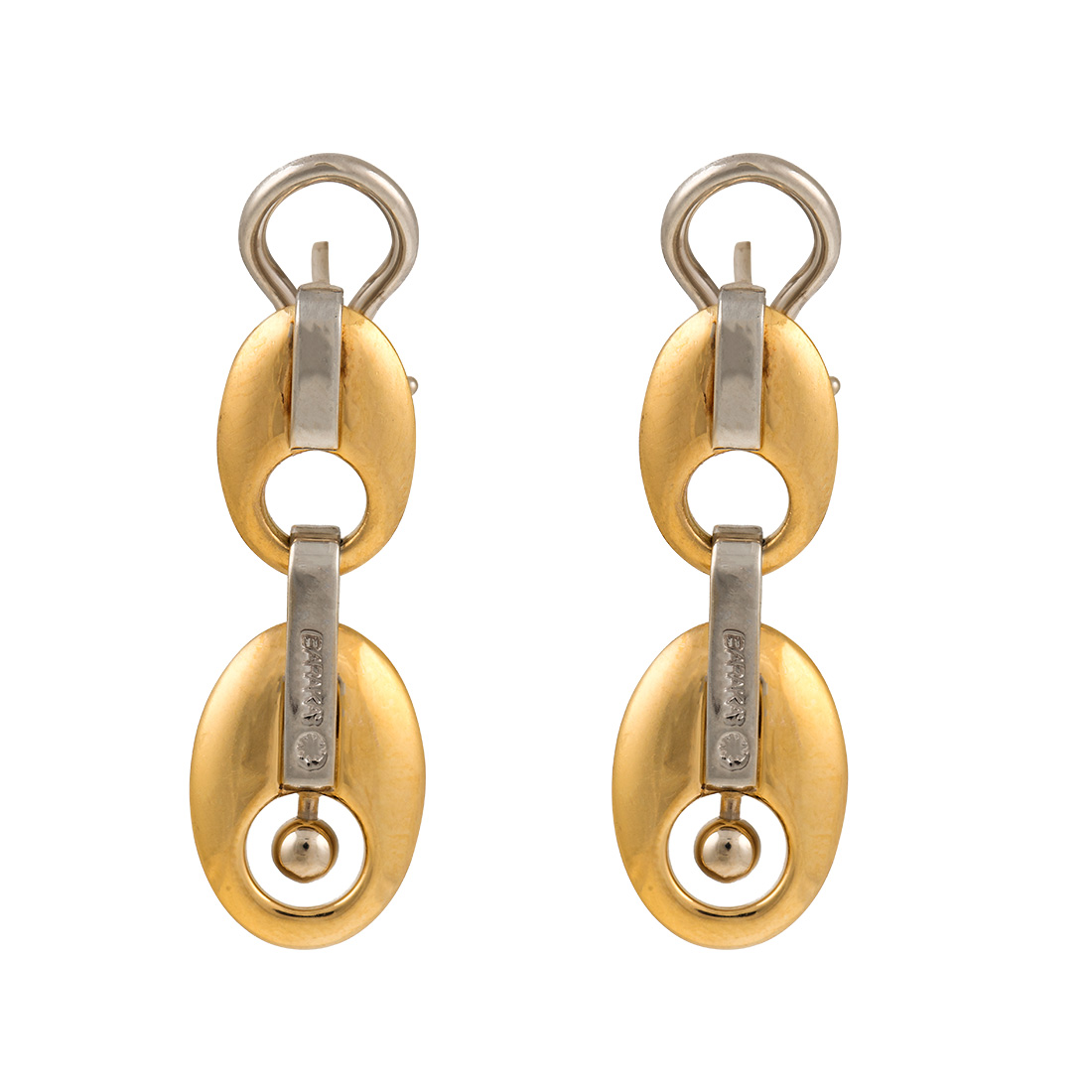 "Image of ""Baraka 18K Yellow Gold Earrings"""
