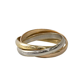 Cartier Trinity 18k Gold Thin Band Ring