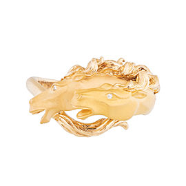 Carrera y Carrera 18k Yellow Gold Horse Ring