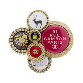 Chanel 31 Rue Cambon Brooch