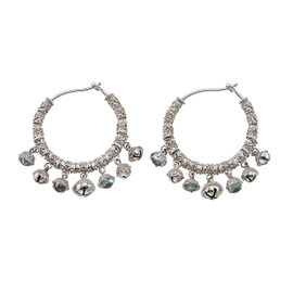 Paul Morelli Ss Gran Bell 25mm Cluster Earrings