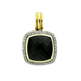 David Yurman Onyx Albion Diamond Pendant