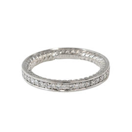 David Yurman Platinum Diamond Eternity Band