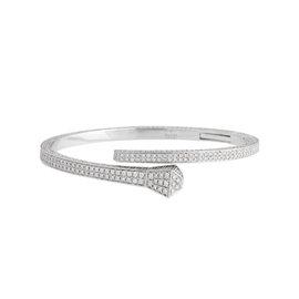 Gucci Chiodo 18K White Gold 8.50 Ct Diamond Nail Bracelet