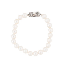 Mikimoto 925 Sterling Silver Pearl Bracelet