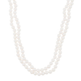 Mikimoto 925 Sterling SIlver with Pearl Strand Necklace