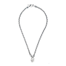 Scott Kay Sterling Silver 0.06ct. Diamond Heart Pendant Necklace