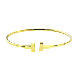 Tiffany & Co. Yellow Gold 'T' Bracelet