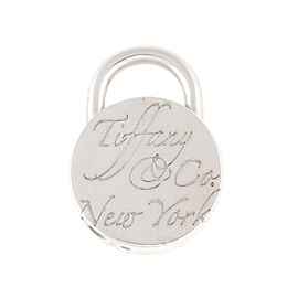 Tiffany & Co. Sterling Silver Return to Tiffany Lock Charm Pendant