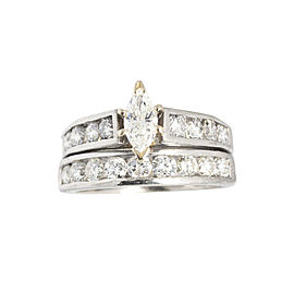 Platinum Diamond Engagement Wedding Ring