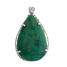 Designer Sebastian Green Beryl Emerald Pendant