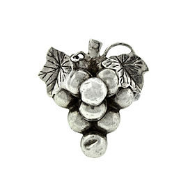 Lady's Sterling Silver Grapes Ring