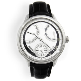 Maurice Lacroix Masterpiece Calendrier Rétrograde MP7268-SS001-110 Stainless Steel Mens Watch