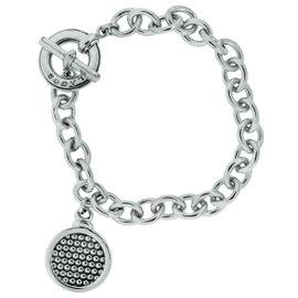Lagos Sterling Silver Circle Charm Bracelet