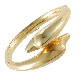 Ilias Lalaounis 18K Yellow Gold Dolphin Bangle Bracelet
