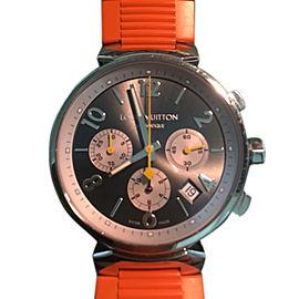 Louis Vuitton Q1120 Stainless Steel Mens Watch