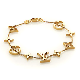 Louis Vuitton 18K Yellow Gold Idylle Blossom Bracelet