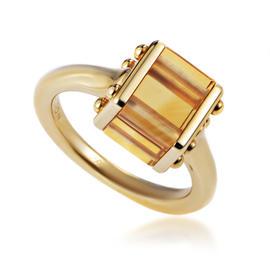 Louis Vuitton 18K Yellow Gold Citrine Ring