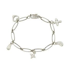 Tiffany & Co. Elsa Peretti 5 Charm Bracelet