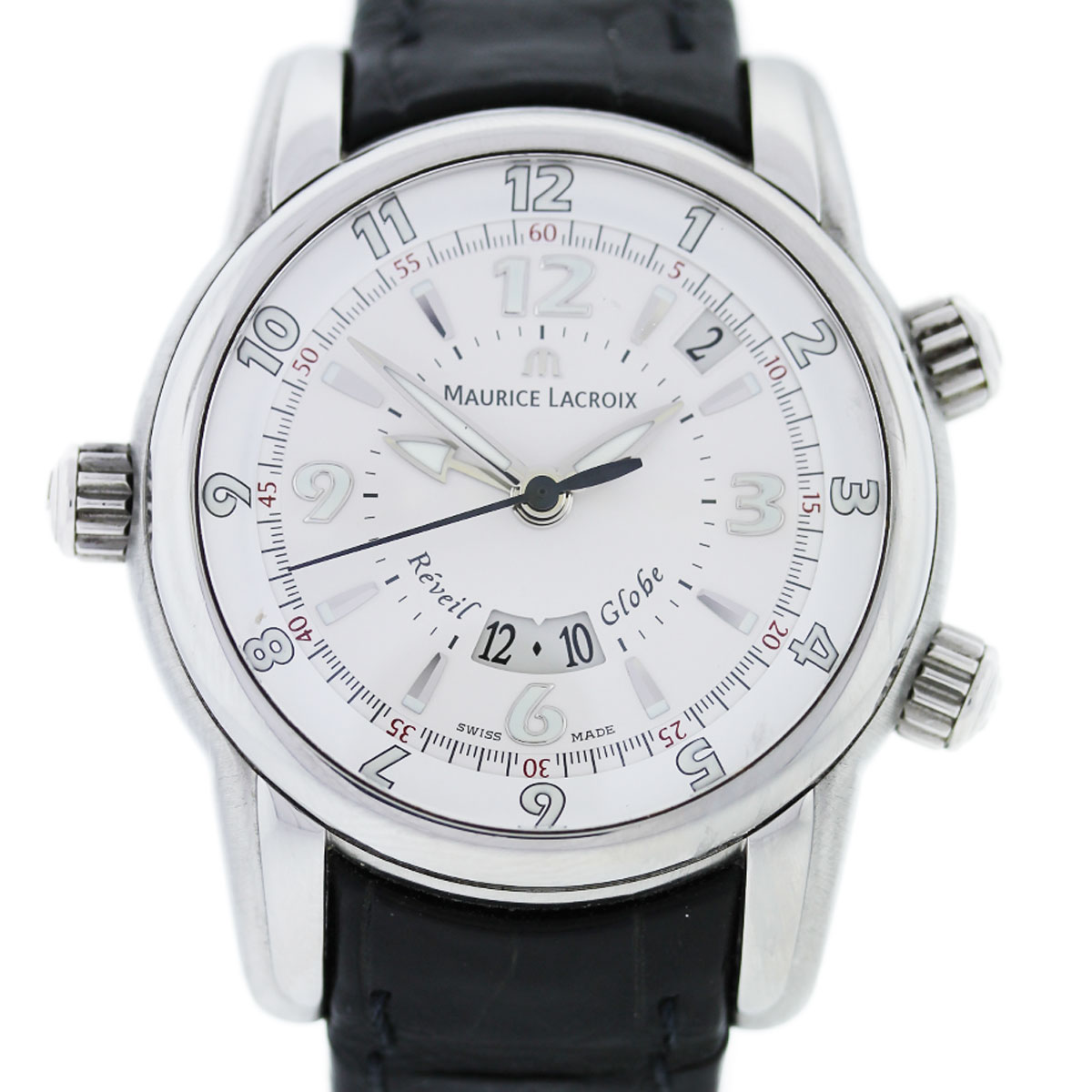 """Image of """"Maurice Lacroix Mp6388 Stainless Steel 43mm Mens Watch"""""""