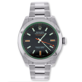 Rolex Milgauss Black Index Dial 40mm Watch