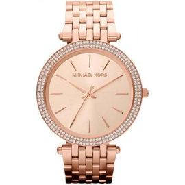 Michael Kors Darci Rose Gold-Tone Stainless Steel