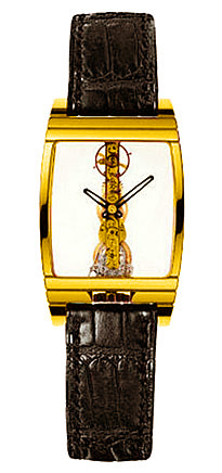 "Image of ""Corum Golden Bridge 18K Yellow Gold Mens Watch"""