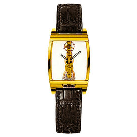 Corum Golden Bridge 18K Yellow Gold Mens Watch