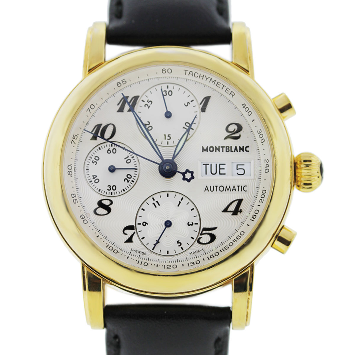 "Image of ""MontBlanc Meisterstruck 7001 Gold Plated Stainless Steel 38mm Unisex"""