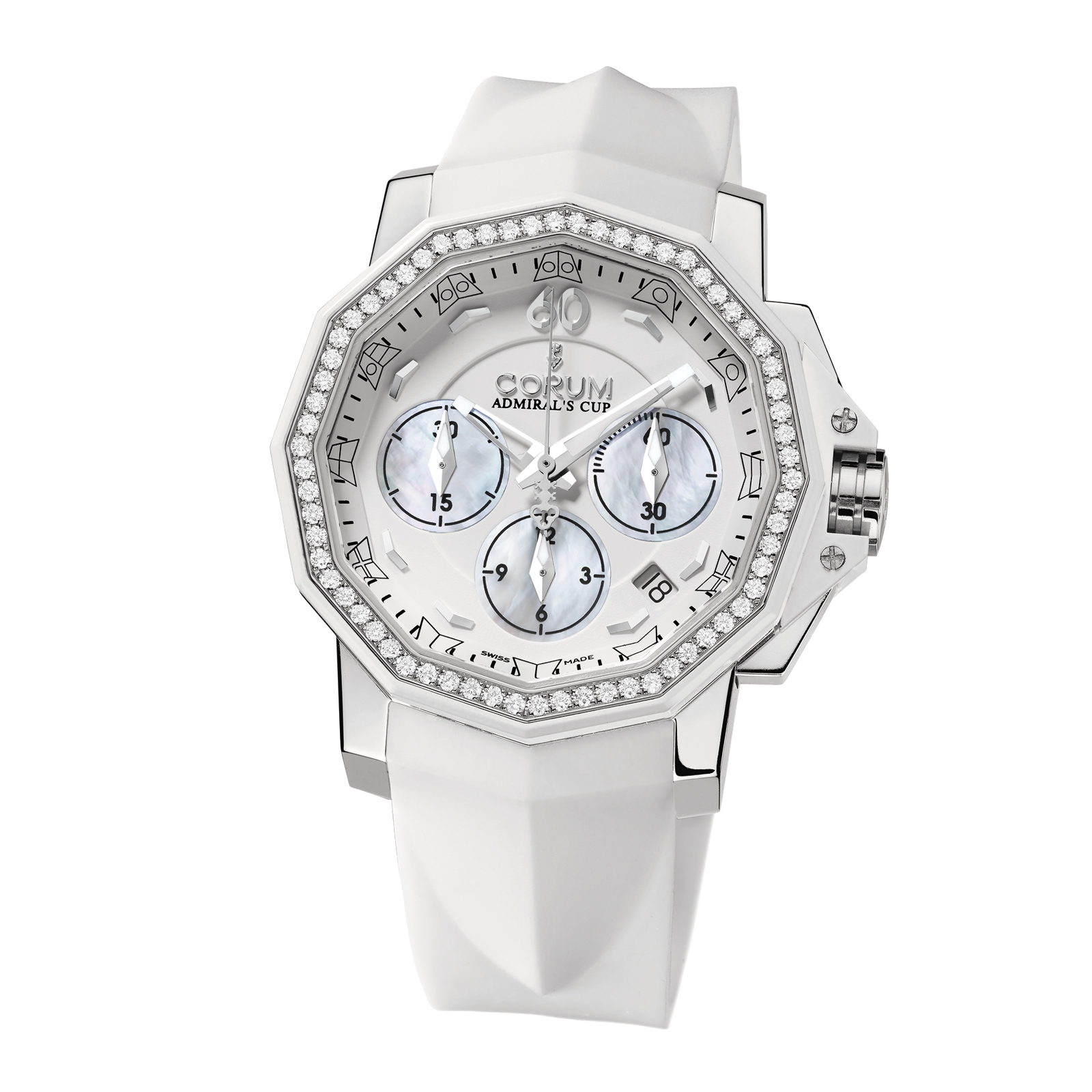 "Image of ""Corum Challenger 40 Chrono Diamond 40mm Watch"""