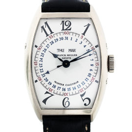 Franck Muller Master Calendar 5850 MC White Gold Automatic Mens Watch