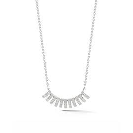 Linear Diamond Necklace