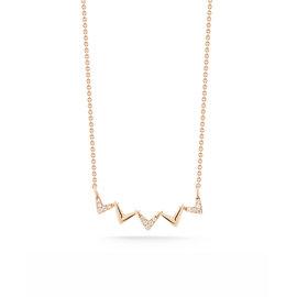 Multi Arrow Diamond Necklace