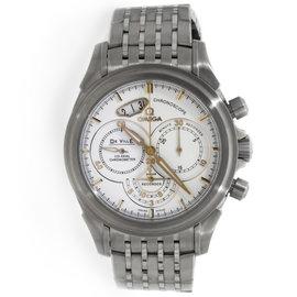 Omega Deville Chronoscope 422.10.41.50.04.001 Stainless Steel Mens Watch