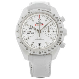 Omega Speedmaster White Side Of The Moon Chronograph 311.93.44.51.04.002 Ceramic Mens Watch