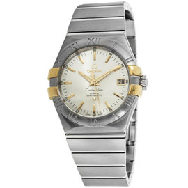 Omega Constellation 123.20.35.20.02.004 Stainless Steel & 18K Yellow Gold Mens Watch