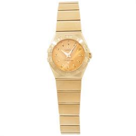 Omega Constellation 123.50.24.60.08.001 18K Yellow Gold Womens Watch