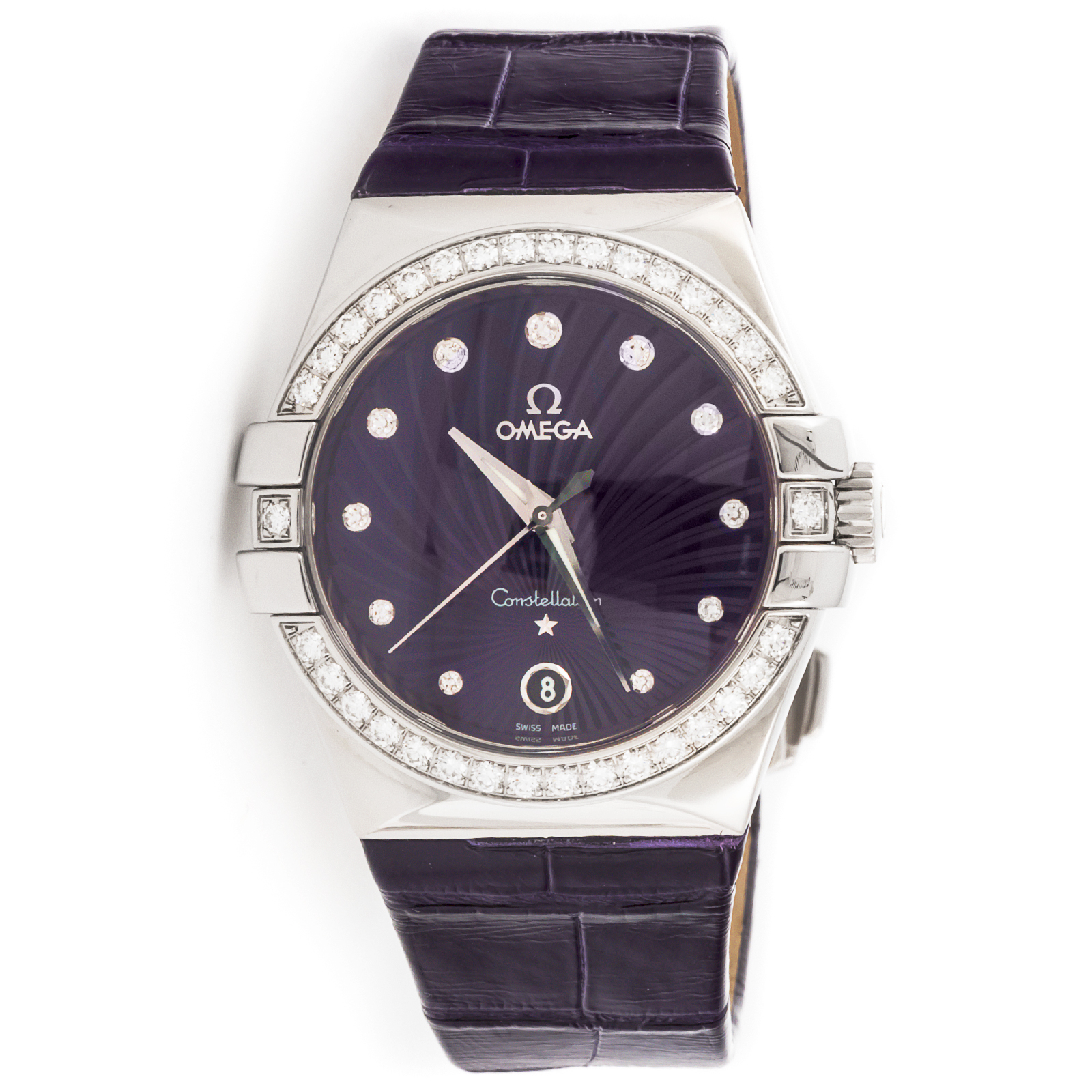 "Image of ""Omega Constellation 123.18.35.60.60.001 Stainless Steel Watch"""