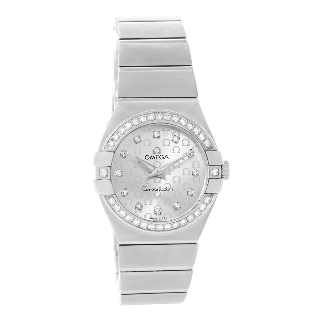 """Image of """"Omega Constellation 123.15.27.60.52.001 Stainless Steel wDiamond 27mm"""""""